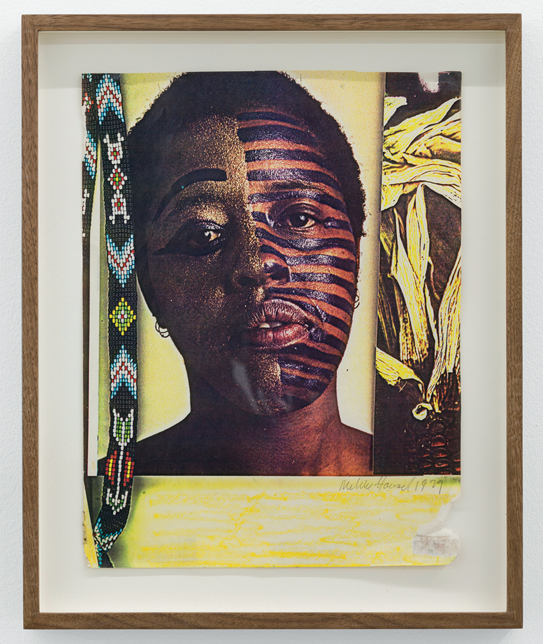 "Mildred Howard, Untitled, 1979, Xerox collage, 11 3/4 × 8 1/2""."