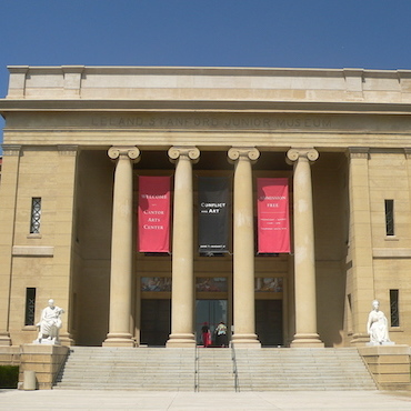 The Cantor Arts Center at Stanford University.