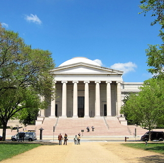 Washington, DC's National Gallery of Art, West Building. Photo: Wikipedia.