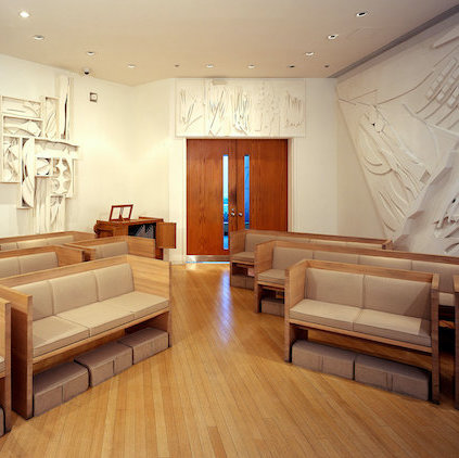 Nevelson Chapel in Midtown, New York. Photo: Thomas Magno.