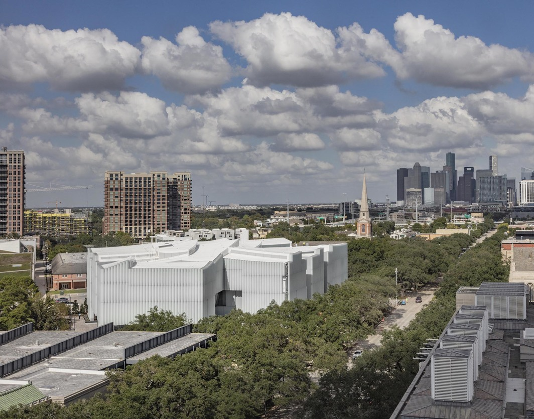 The Nancy and Rich Kinder Building at the Museum of Fine Arts, Houston. Photo: Richard Barnes.