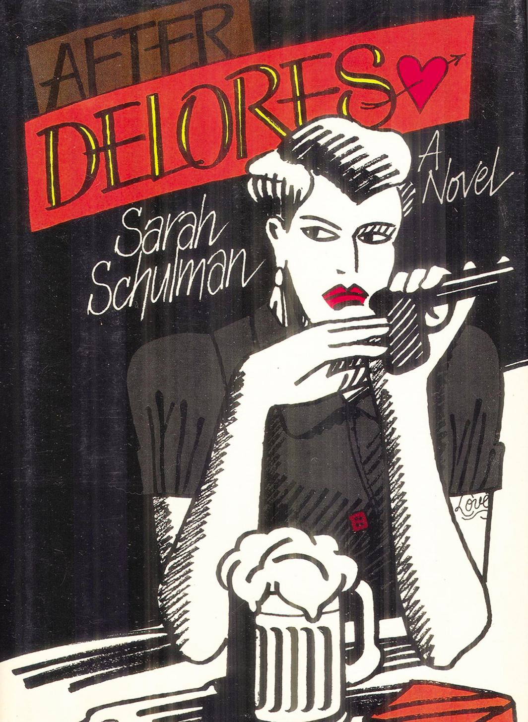 Cover of Sarah Schulman's After Delores (E. P. Dutton, 1988).