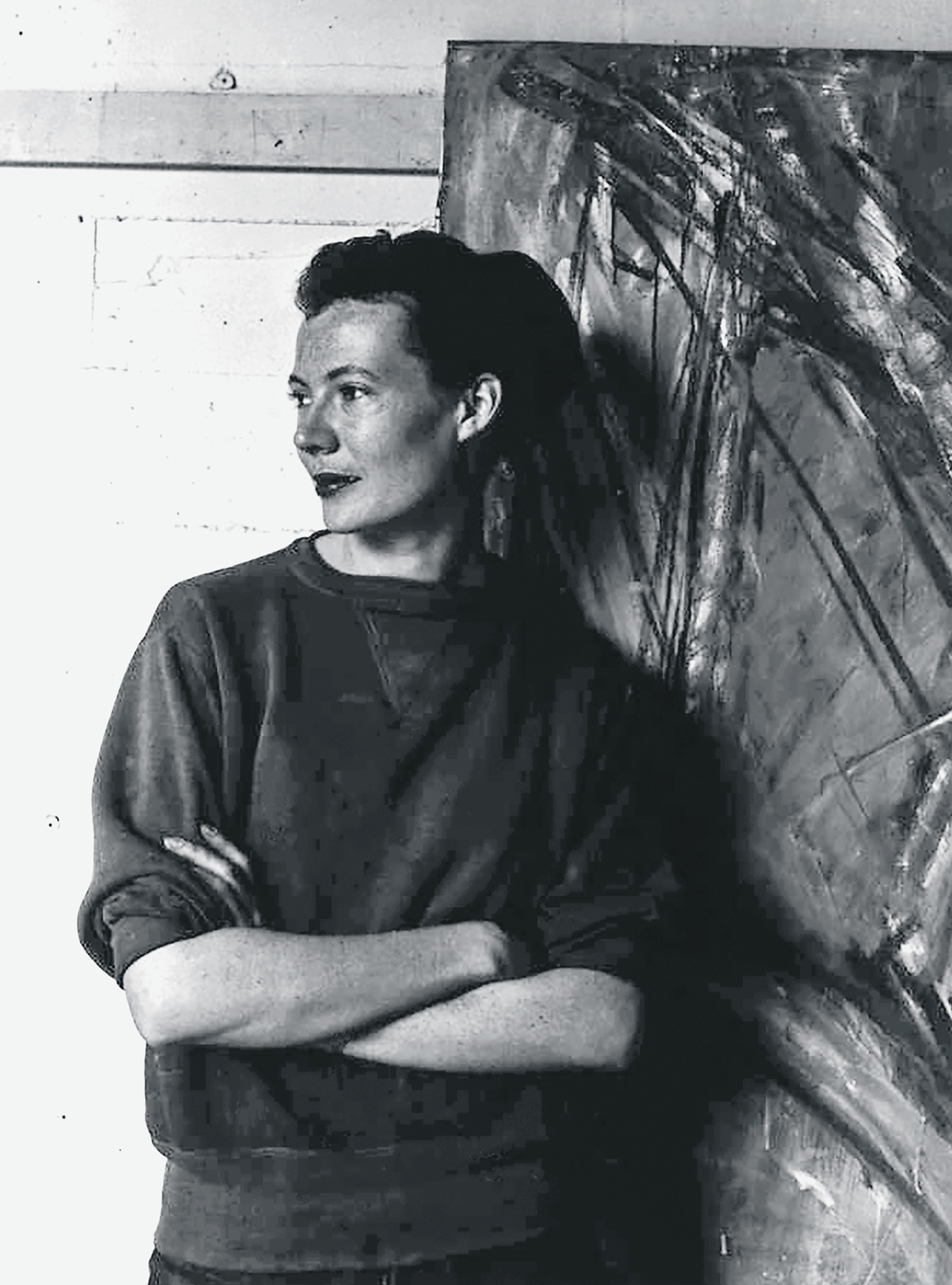 Deborah Remington, San Francisco Art Institute, April 1955. © Deborah Remington Charitable Trust for the Visual Arts/Licensed by VAGA at Artists Rights Society (ARS), New York.