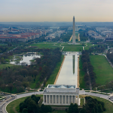 The National Mall, where the museums are expected to be built.
