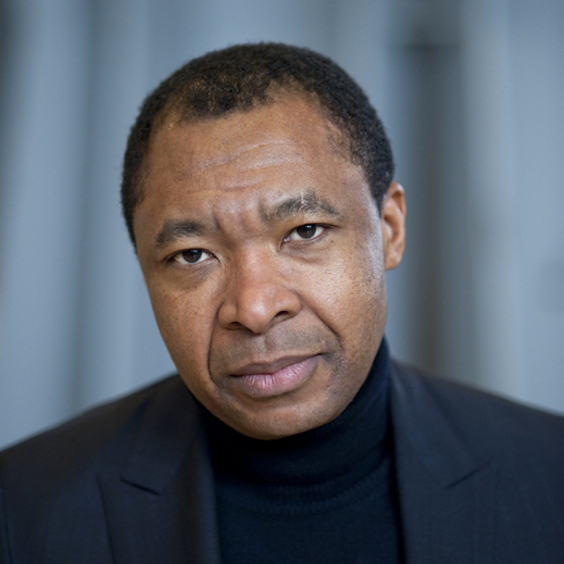 Okwui Enwezor. Photo: Jeff Weiss.