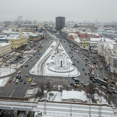 Moscow's Komsomolskaya Square. Photo: Wikipedia.