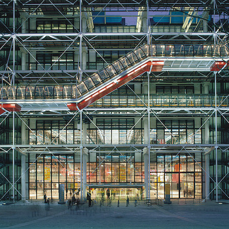 Centre Pompidou. Photo: Michel Denancé/Renzo Piano Building Workshop.