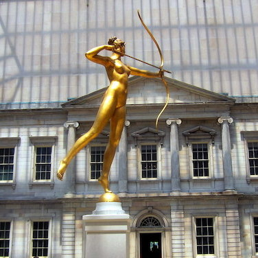 Augustus Saint-Gaudens's Diana at the Metropolitan Museum of Art. Photo: Wally Gobetz/Flickr.