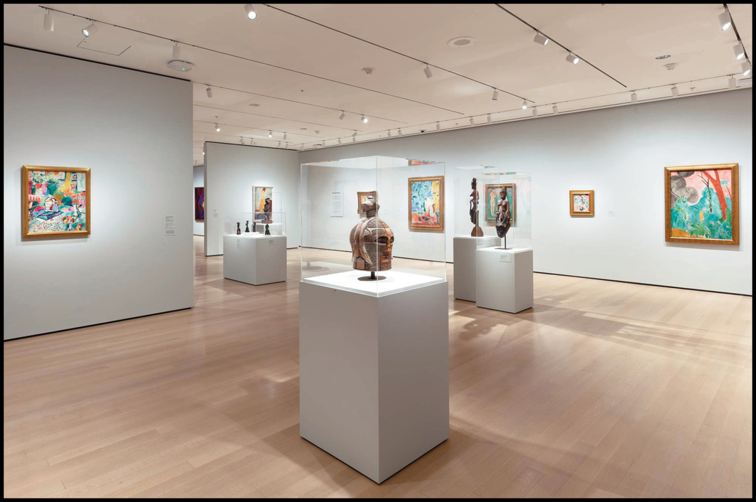 """View of """"Félix Fénéon: The Anarchist and the Avant-Garde—From Signac to Matisse and Beyond,"""" 2020–21, Museum of Modern Art, New York. Photo: Robert Gerhardt."""