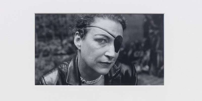 "Camilla Wills, A life (detail), 2021, C-type print on paper, 76 x 52 x 2 1/2"". © Marie Colvin photographed by Don McCullin, 2005."