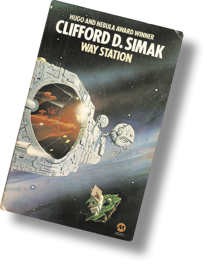 *Cover of the 1979 Eyre Methuen edition of Clifford D. Simak's 1963 _Way Station_*.