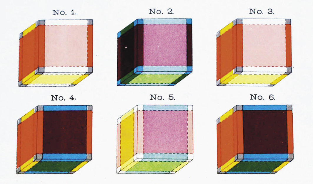 *Tesseract illustrations from Charles Howard Hinton's _The Fourth Dimension _*(Swan Sonnenschein & Co., 1904).