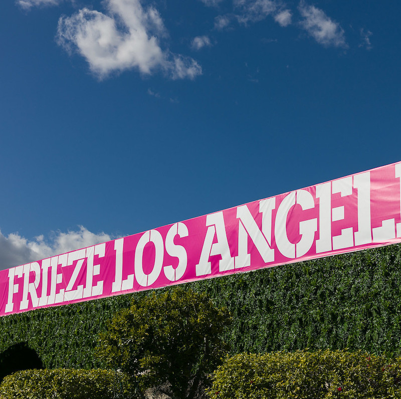 Frieze Los Angeles 2019. Photo: Mark Blower/Frieze.