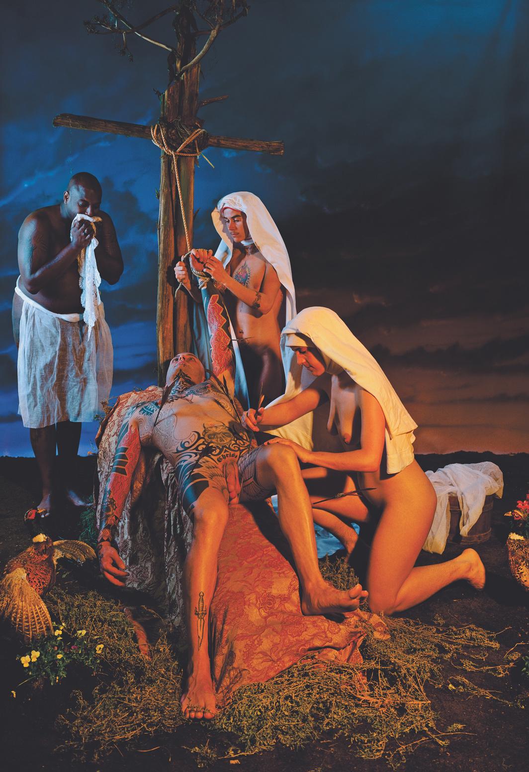 Catherine Opie, Saints, 1995, C-print, 60 × 40