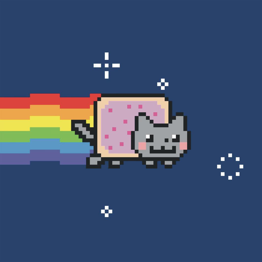 Chris Torres, Nyan Cat, 2011, GIF.
