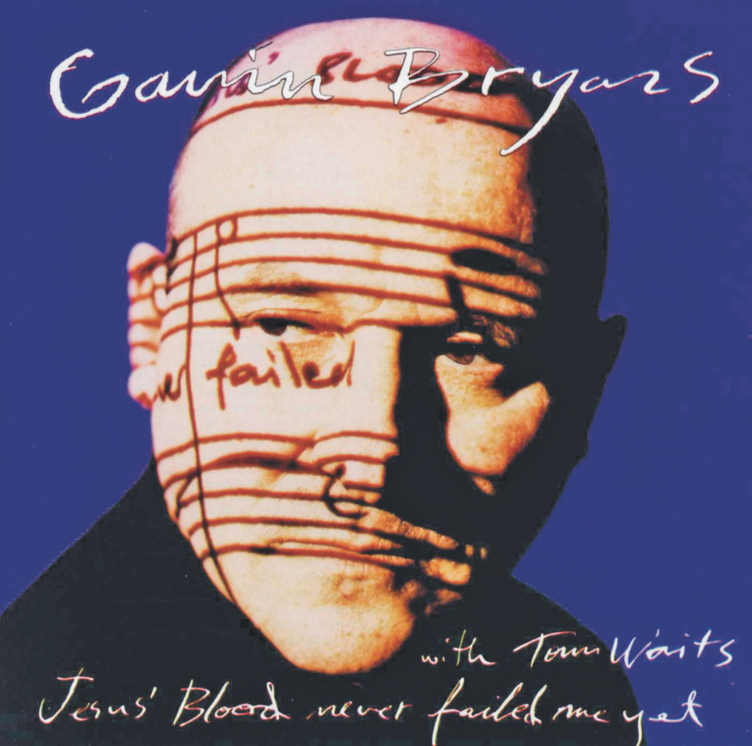 Cover of Gavin Bryars's Jesus' Blood Never Failed Me Yet (Point Music, 1993).