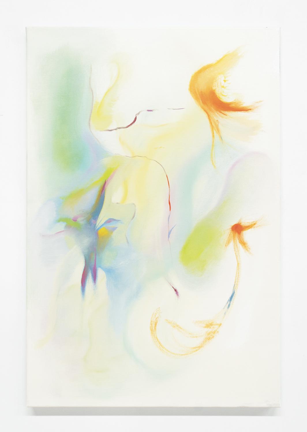 Whitney Claflin, C.F., 2013, oil on linen, 36 × 24