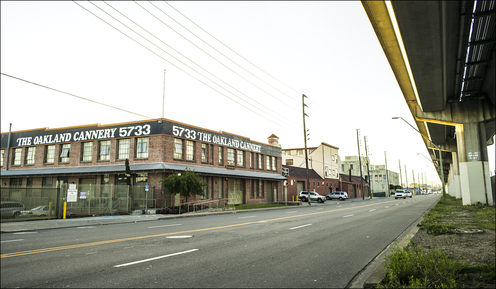 5733 San Leandro Street, Oakland, CA. Photo: Kirk Crippens and Torre McQueen. Courtesy of the Oakland Cannery Collective.