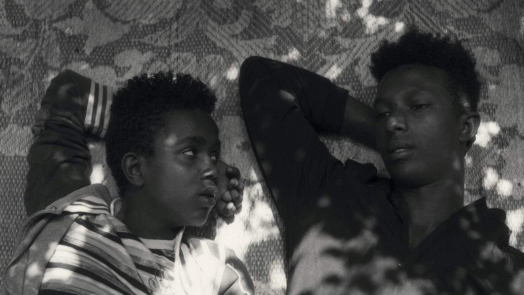 Jessica Beshir, Faya Dayi 2021, DCP, black-and-white, sound, 120 minutes.