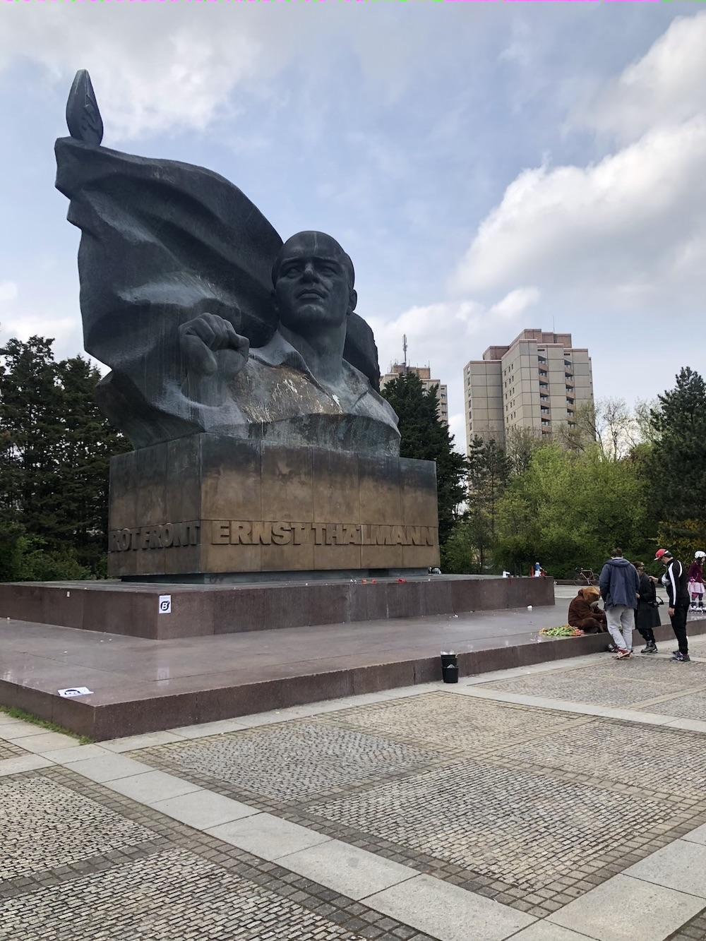 Ernst Thälmann monument.