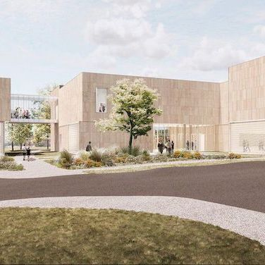 A rendering of the museum to be built at Pennsylvania State University. Image: Allied Works Architecture.