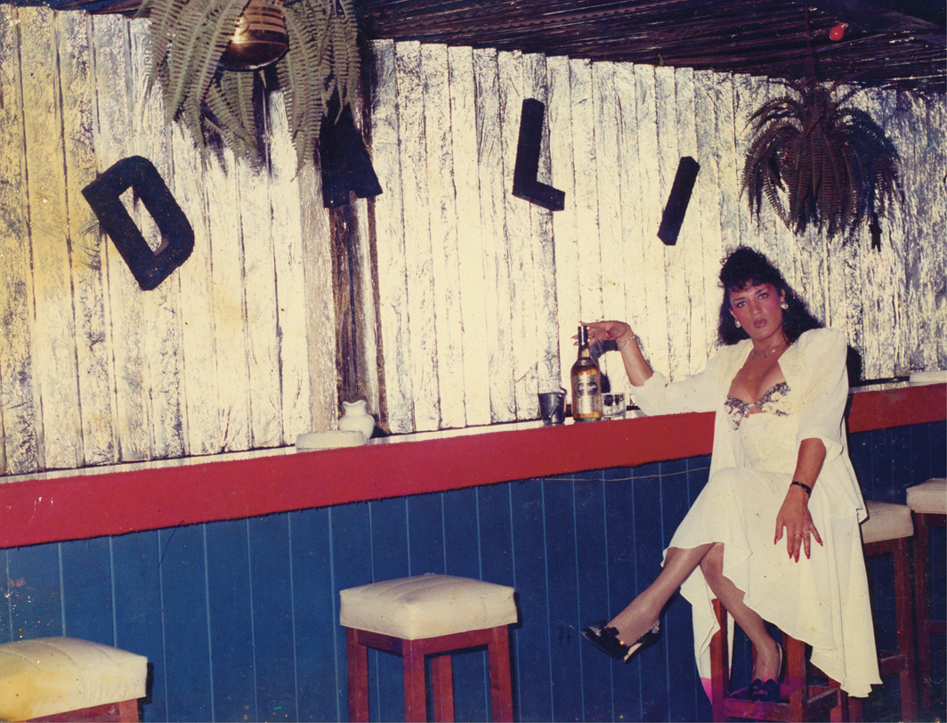 Flavia Flores, Cabaret Dali, Buenos Aires, 1987.