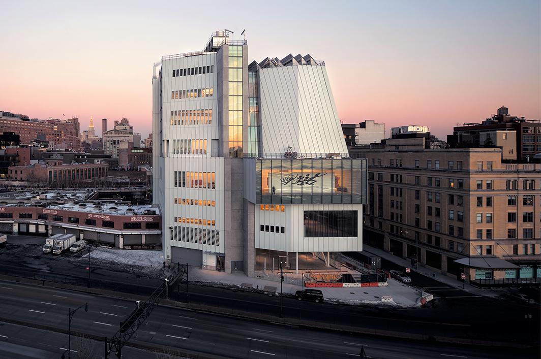Renzo Piano Building Workshop, Whitney Museum of American Art, 2015, New York. Photo: Nic Lehoux.