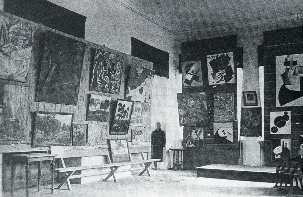 Paintings for the Art Fund of the Museum of Artistic Culture in the Museum Bureau of IZO Narkompros collection, Moscow, 1919–20.  © Encyclopedia of the Russian Avant-garde.