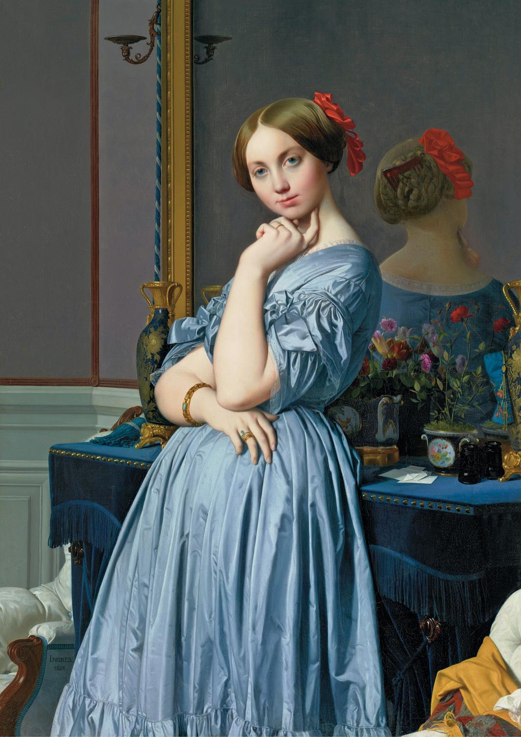 Jean-Auguste-Dominique Ingres, Comtesse d'Haussonville, 1845, oil on canvas, 57 7⁄8 × 36 1⁄4