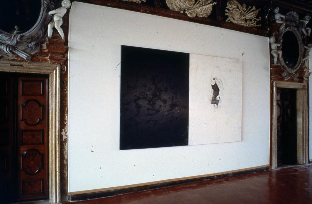 Veduta del padiglione portoghese alla Biennale di Venezia del 1997.