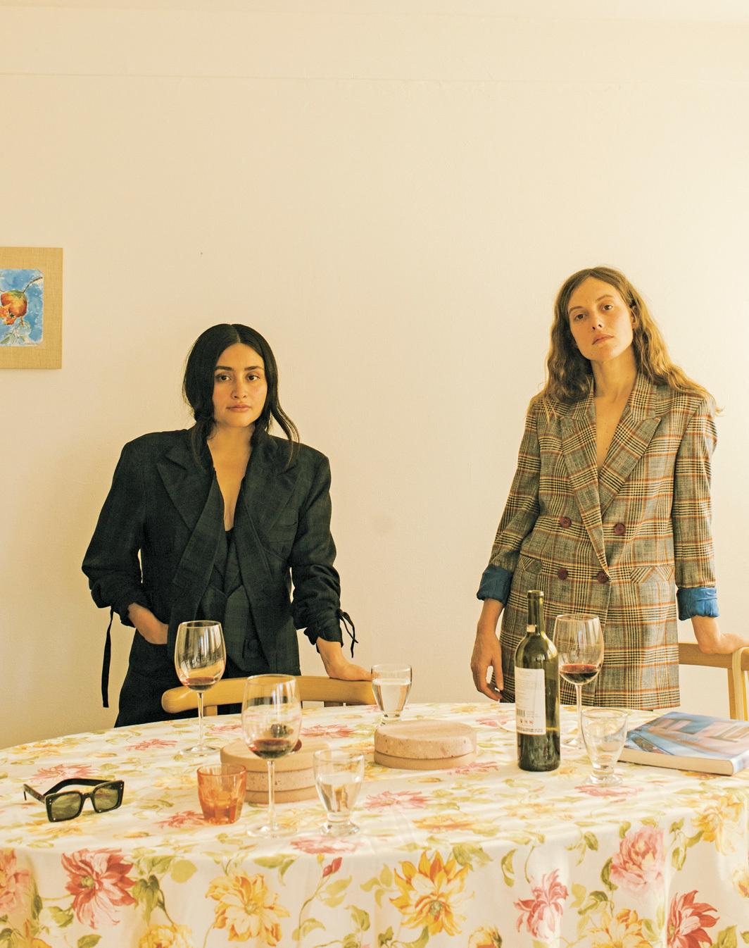 *Momoroom founders Monse Castera and Mariana Güell, 2021. *Photo: Manuel Zuñiga.
