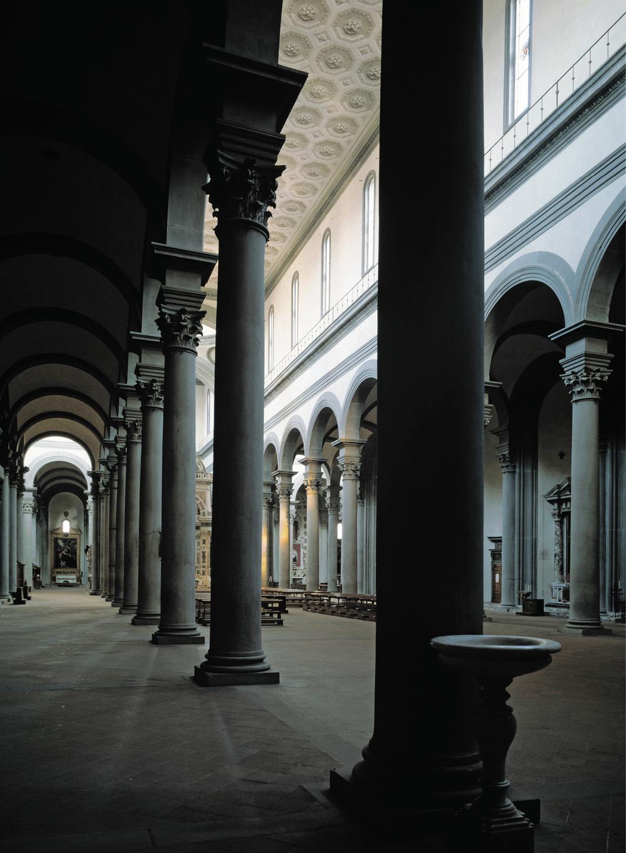 *Basilica di Santo Spirito, Florence, 1980s. *Photo: Luisa Ricciarini/Bridgeman Images.