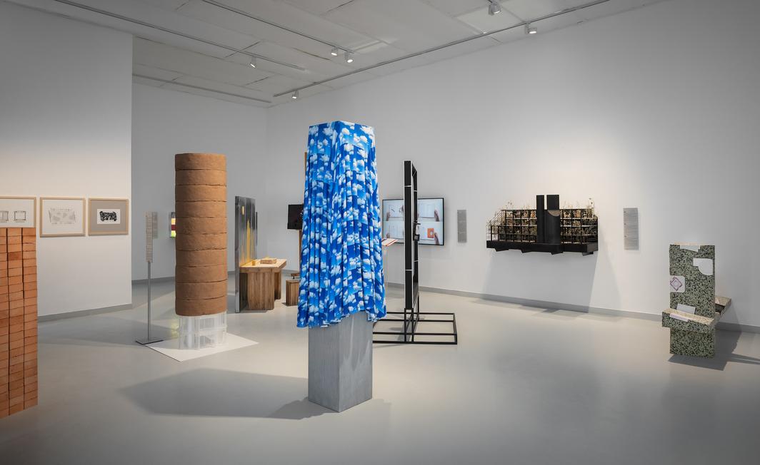 "View of ""Other,"" 2021. Hungarian Pavilion, Venice.  Photo: Daniel Dömölky."