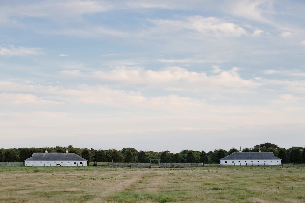 View of the Ranch, the new art venue of former Marlborough Gallery president Max Levai in Montauk.
