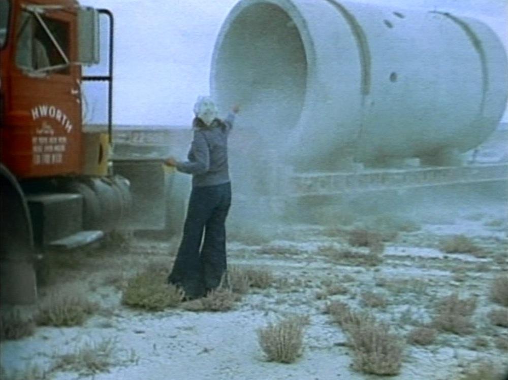 Nancy Holt, Sun Tunnels, 1978, color, sound, 16 mm film on HD video, color, sound, 26 minutes 31 seconds. © Holt/Smithson Foundation.