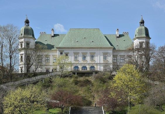 Ujazdowski Castle in Warsaw. Photo: Adrian Grycuk.