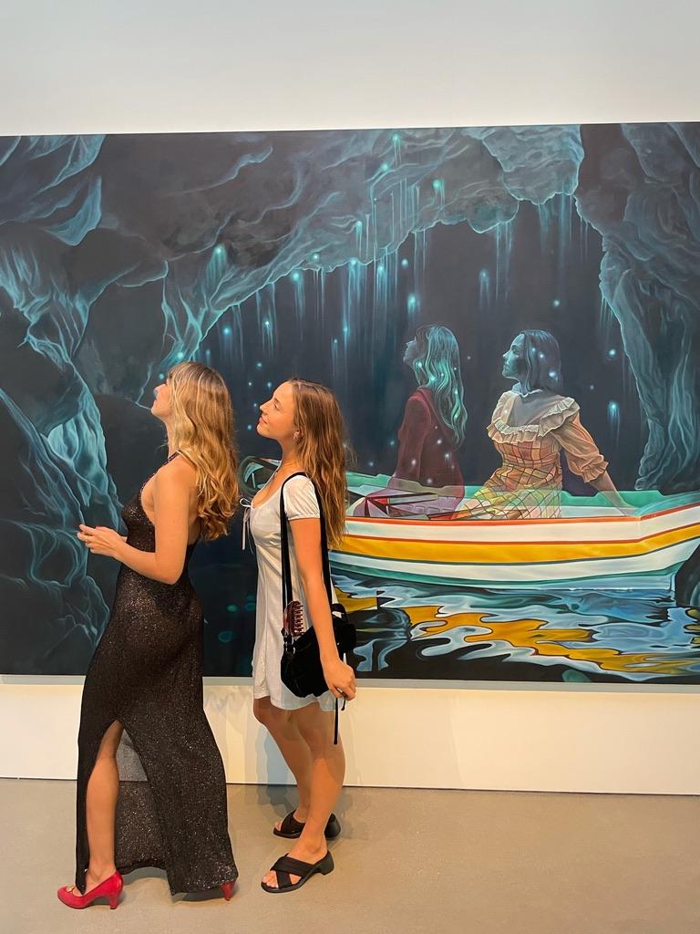 Molly Lewis and Kiera Mcnally. Photo: Augusta Dayton.