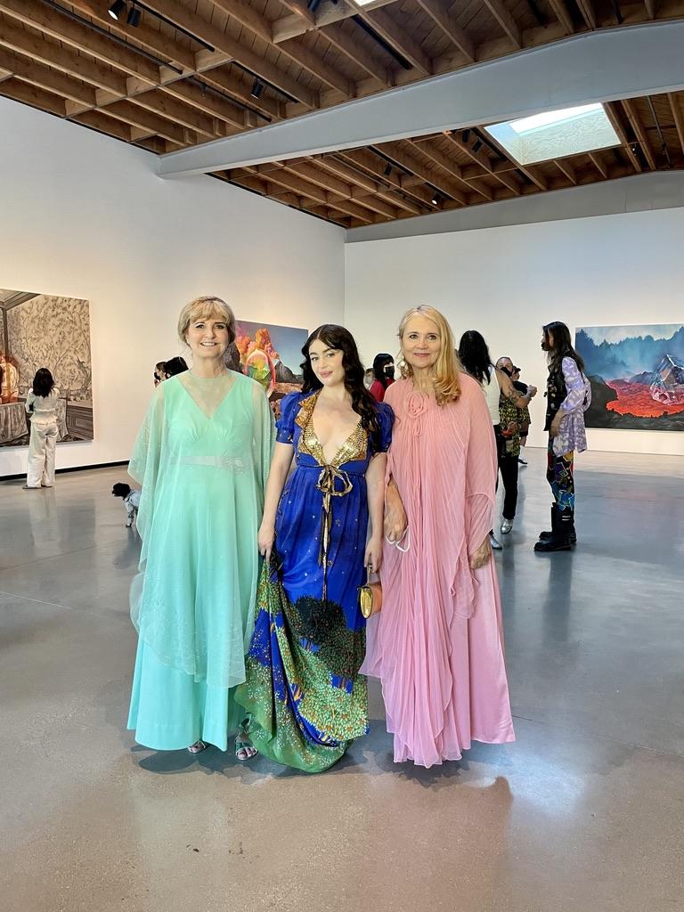 Celeste Appel, Ariana Papademetrpoulos, and Jennifer Stovall. Photo: Dani Tull.