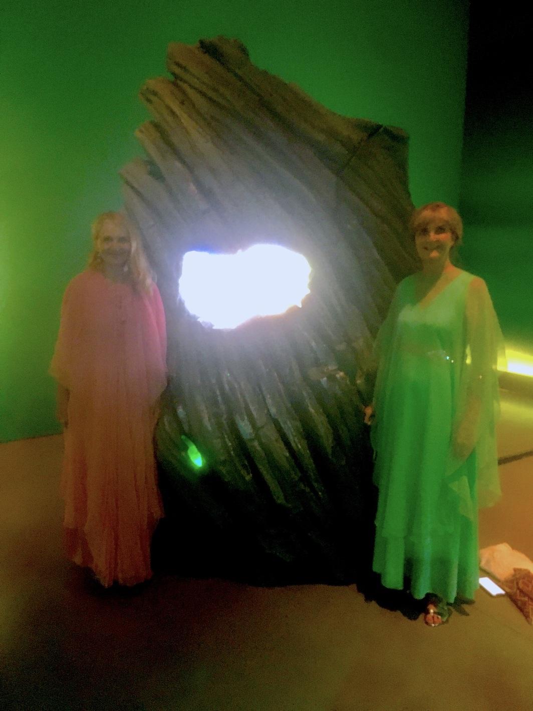 Jennifer Stovall and Celeste Appel. Photo: Chloe Wyma.