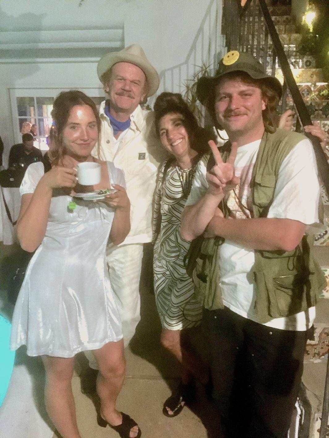 "Kiera McNally, ""Marty McFly,"" filmmaker Alison Dickey, musician Mac DeMarco. Photo: Chloe Wyma."